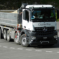 Lorry steering forces check