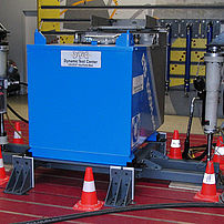 Test de vibration citerne de chantier (IBC)