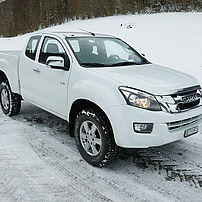 Isuzu D-Max with uprated payload